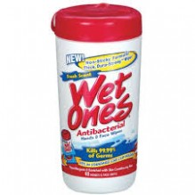 WET ONES 40'S ANTI BACTERIAL