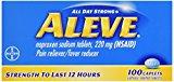 ALEVE CAP 100'S