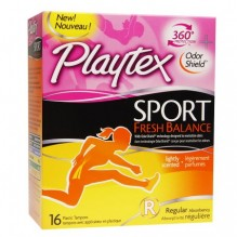 PLAYTEX SPORT 16CT FRSH BAL RG