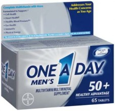ONE A DAY MENS 50 + ADV
