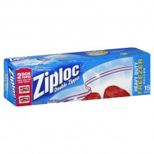 ZIPLOCK FREEZER BAGS 14CT GALLN