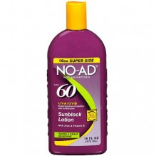 NO-AD SUNSCREEN LOT SPF60 16OZ