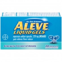 ALEVE LIQUID GELS 20'S