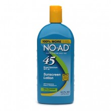 NO-AD SUNSCREEN LOT SPF45 16Z