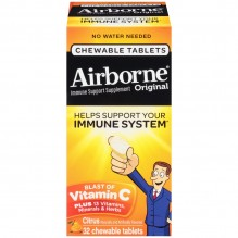 AIRBORNE CITRUS CHEWS 32 CT
