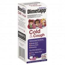 DIMETAPP 4OZ CHILD COLD/COUGH