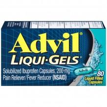 ADVIL LIQUI-GELS 80'S