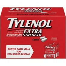 TYLENOL CAP X-S 10S VIAL BL