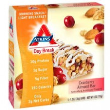 ATKINS DAY BREAK CRAN/ALMND 5PK
