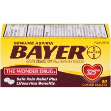 BAYER 50'S 325MG