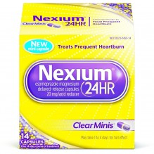 NEXIUM 24HR CLEAR MINI'S 14CT