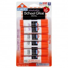 ELMERS GLUE STK 6CT PURP DISAPP