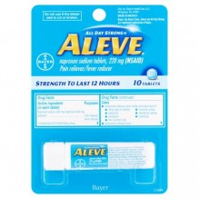 ALEVE TABS 10CT