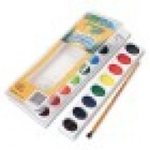 CRAYOLA WASH WATER COLOR 16CT