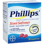 PHILLIPS STOOL SOFTNER 30CT