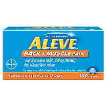 ALEVE TAB 100'S BACK/MUSCLE