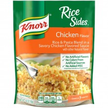 KNORR RICE & SAUCE CHICKEN 5.6Z