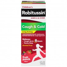 ROBITUSSIN 4OZ PED COUGH/COLD