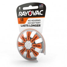 RAYOVAC H/A BATTERY #13 8CT