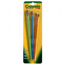 CRAYOLA PAINT BRUSH 4CT