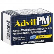 ADVIL PM CAPLETS 20 CT