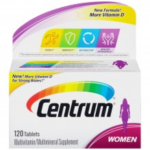 CENTRUM WOMENS 120 CT