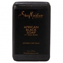 SHEA BAR SOAP 8OZ AFRICN BLACK