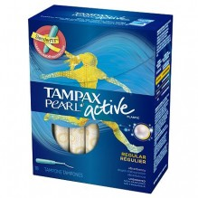 TAMPAX PEARL ACTIVE REG UNS 18C
