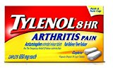 TYLENOL 8HR MUSCLE PAIN CAT 24S