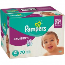 PAMPERS CRUISER SZE-4 SUPER 70C