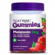 NATROL MELATONIN GUMMY 5MG 90CT