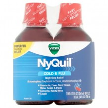 NYQUIL TWIN PACK 2/12OZ CHERRY