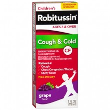 ROBITUSSIN CF 4OZ CHLD CGH/CLD