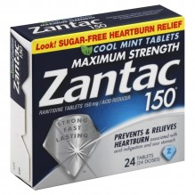 ZANTAC COOL 150 MG 24 CT