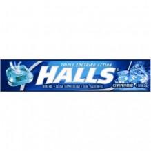 HALLS STK 9'S 20/BX ICE PEPPRMN
