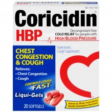 CORICIDIN HBP CHEST CONG&COUGH