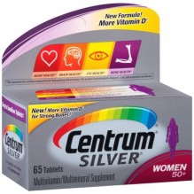 CENTRUM SILVER WOMENS 65CT