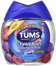 TUMS 32CT CHEWY BITES ASST BRY