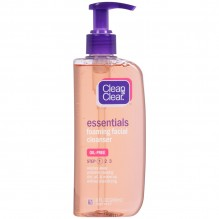 CLN & CLR FOAM FACE CLNSR 8OZ