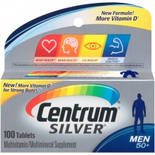 CENTRUM ULT SILVER MEN'S 100'S