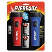 EVEREADY FLASHLITE 2PACK/WBATT