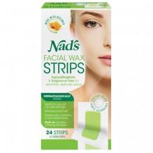 NADS FACIAL HAIR RMVR STRIPS 24