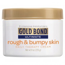 GOLD BOND RGH/BUMPY DLY 8OZ CRM