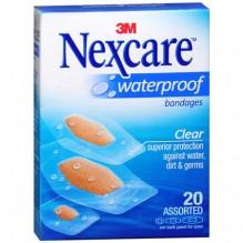NEXCARE WATRPRF ASST BND 20S