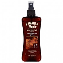 HAWAIIAN TROPIC TAN OIL 8OZ S15