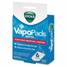 VICKS SCENT PADS 6 CT