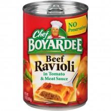 CHEF BOYARDEE BEEF RAVIOLI 15OZ