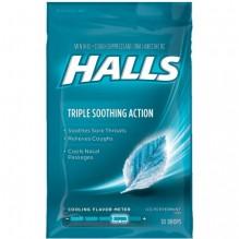 HALLS BAG 30'S ICE BLUE