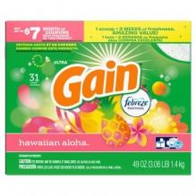 GAIN POWDER 49OZ ULT H/E HAW SC