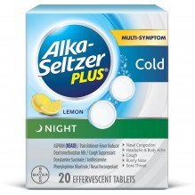 ALKA SELTZER PLUS PM NITE 20 CT